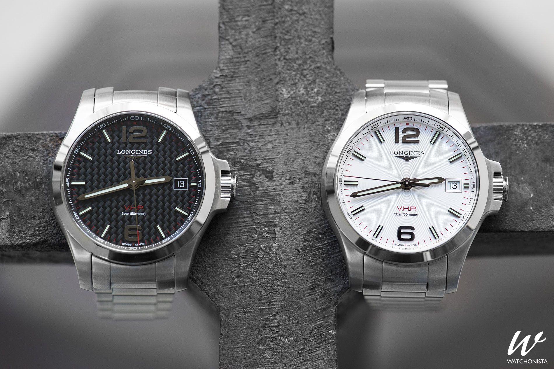 In-depth  The Longines Conquest V.H.P. series  2f568c34db5