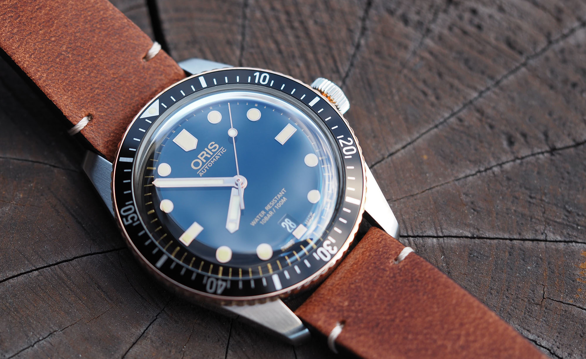 oris adds a touch of bronze to the diver sixty five watchonista