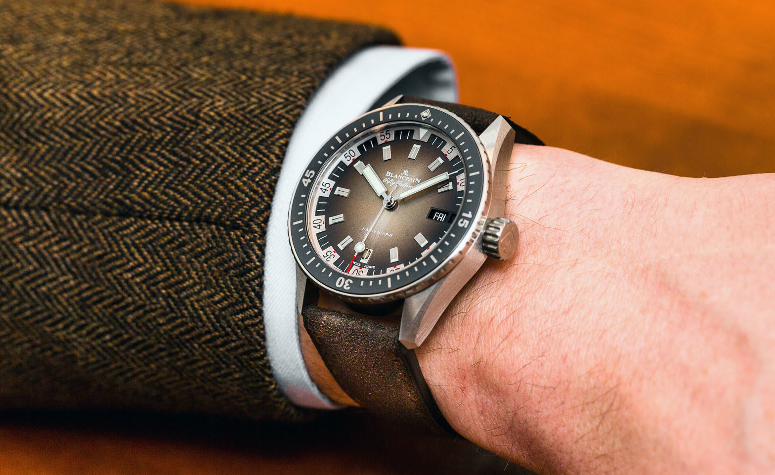 Hands On With The Blancpain Fifty Fathoms Bathyscaphe Day