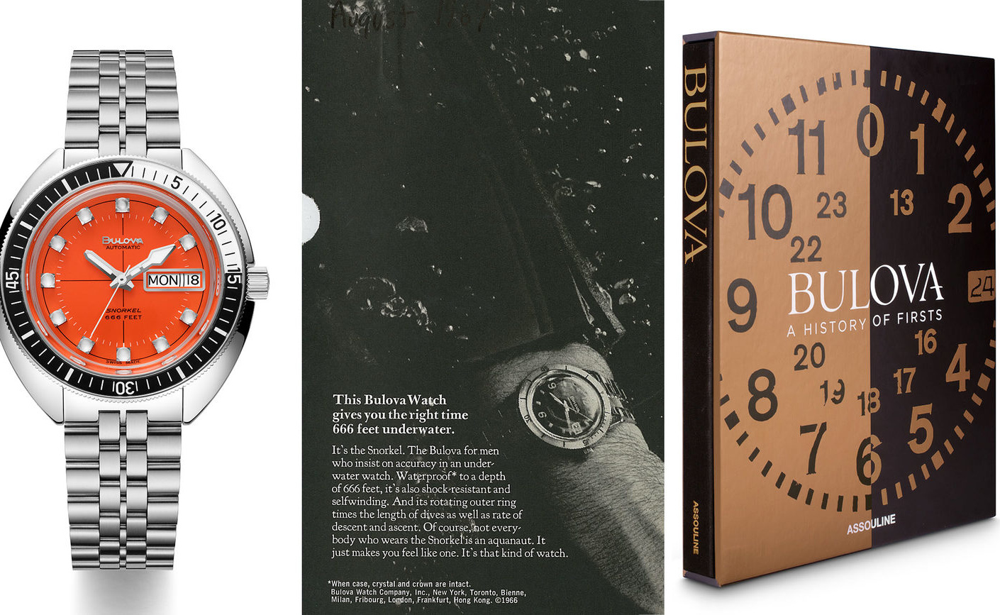 """Concours D Elegance >> 'BULOVA: A History of Firsts' Exclusive Excerpt – The Bulova 666 """"Devil Diver"""" 