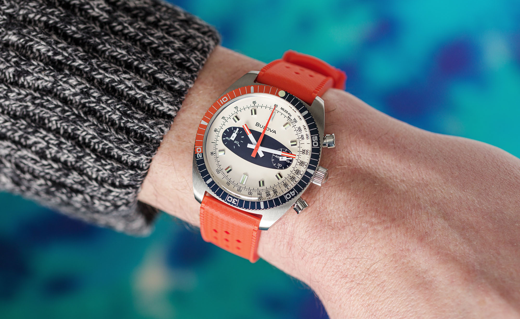 Making Waves: Bulova Is Bringing Back The Chronograph A 'Surfboard' |  Watchonista