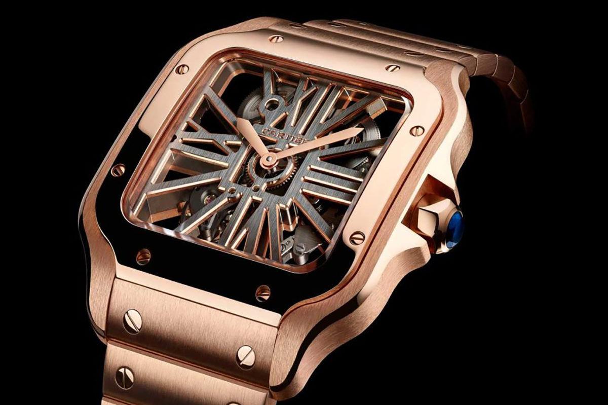 Panthère Ajourée De Cartier Watch