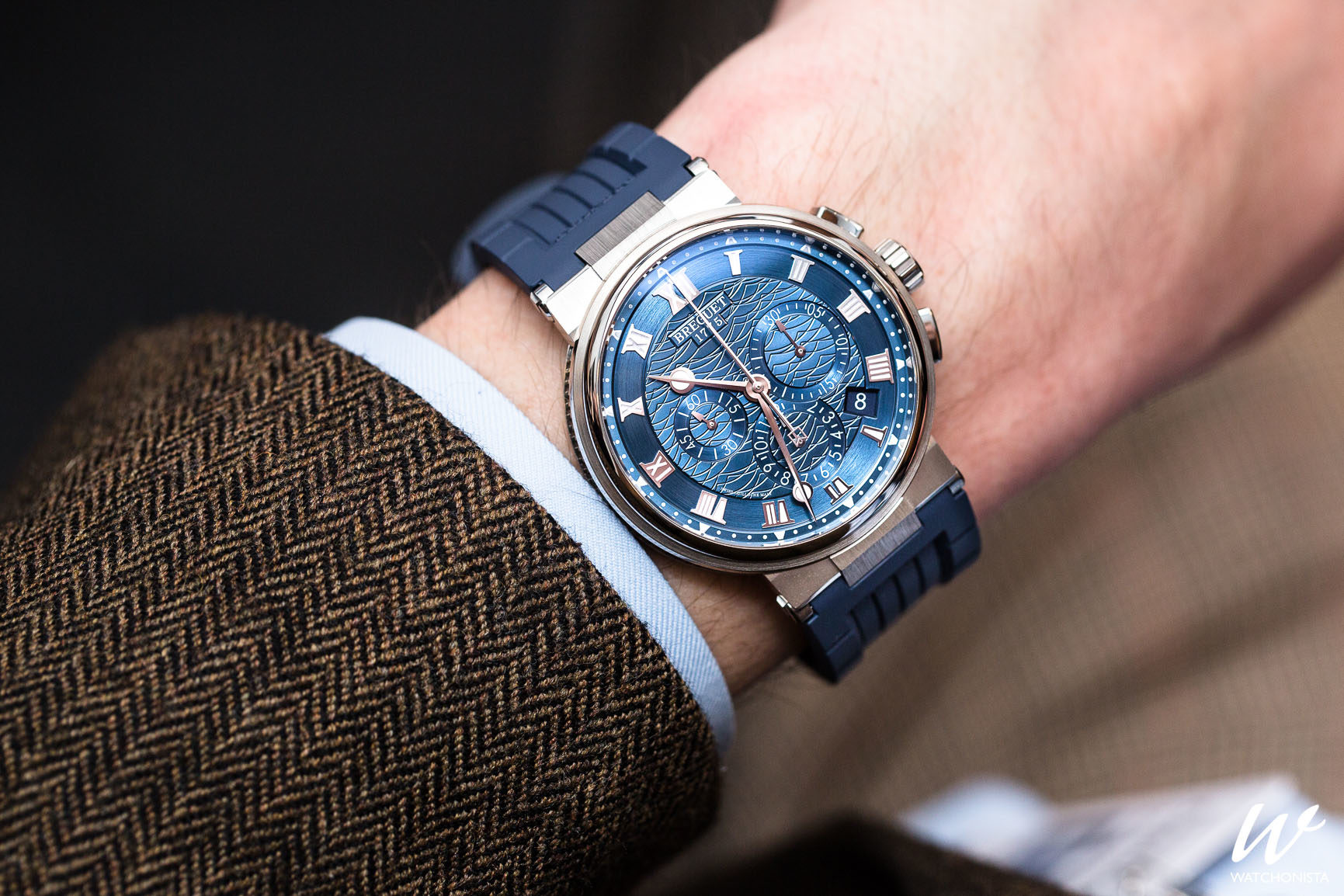 Tide And Tradition Breguet Rides The Waves At Baselworld