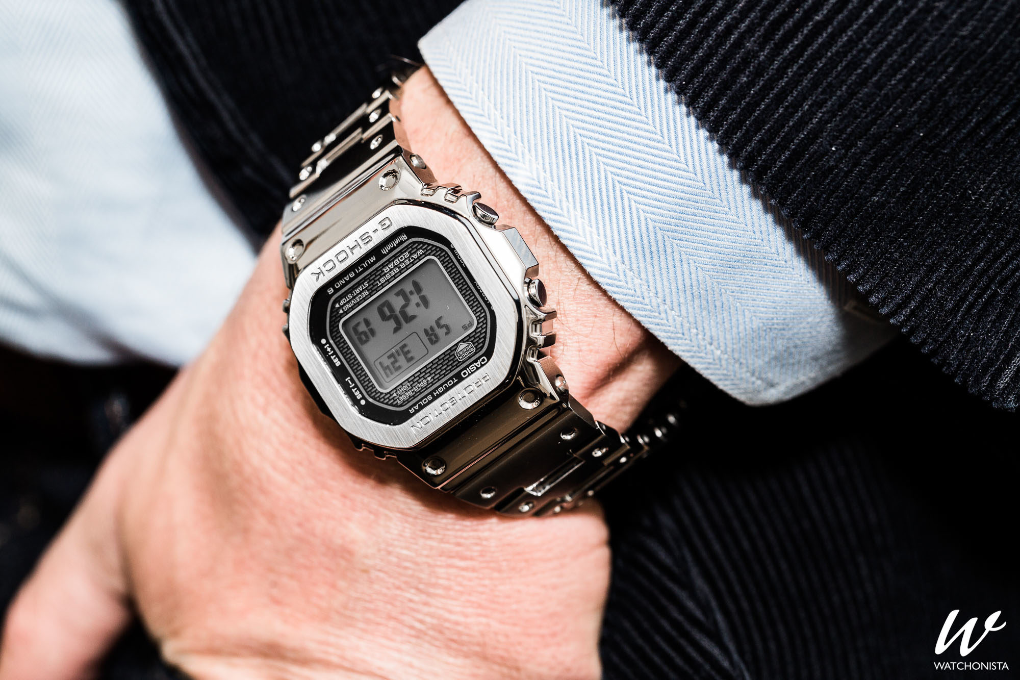 pretty nice 8a249 489fb Hands-On: The Casio G-Shock 'Full Metal' 5000 | Watchonista