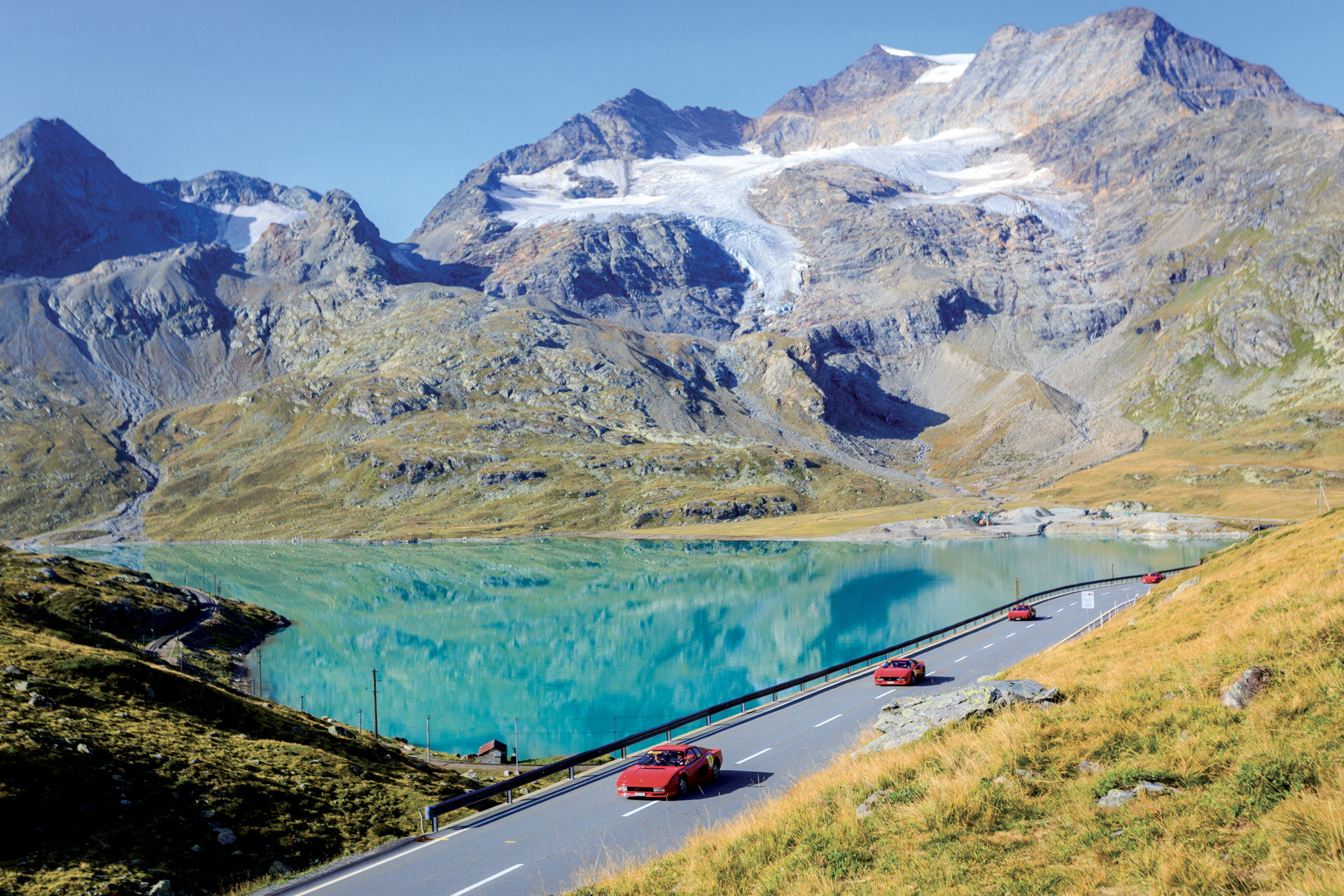 High Altitude: Crossing the Alps with Bulgari and Maserati at the ...