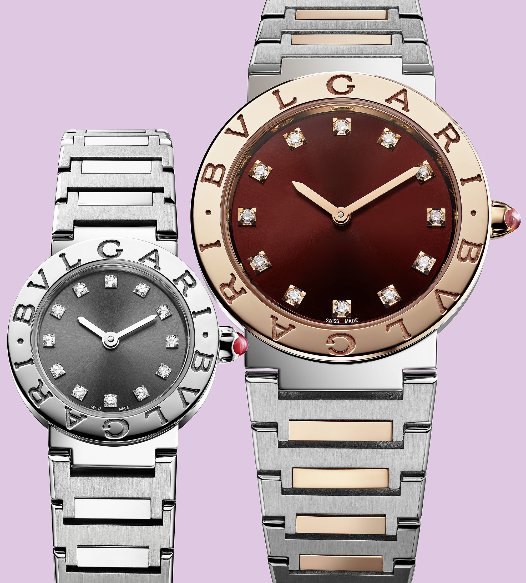 9b173f34e4a62 The dials come in several refined yet contemporary executions bearing  applied or diamond hour-markers