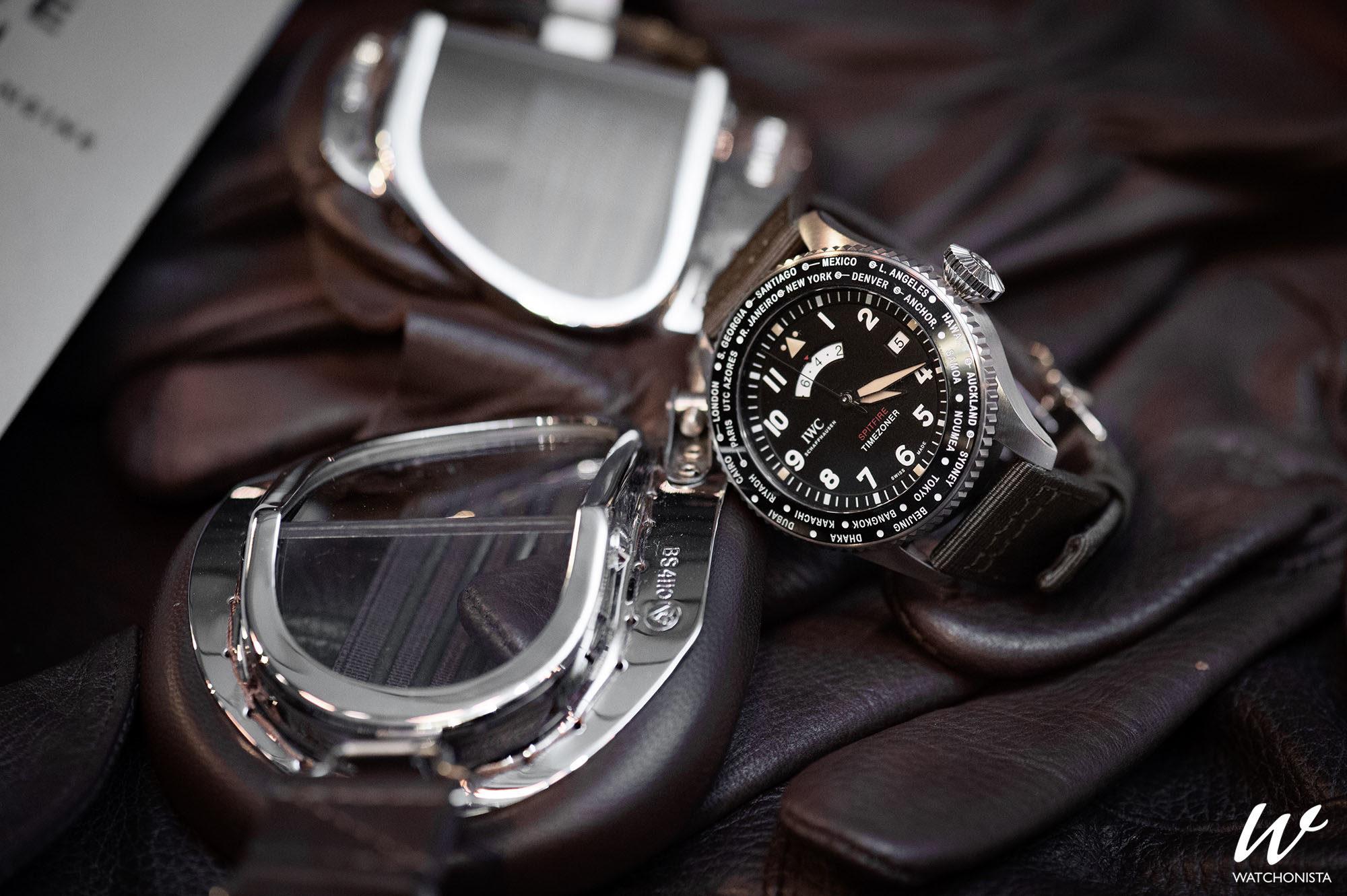 224207b67f8 IWC Pilot s Watch Timezoner Spitfire Edition
