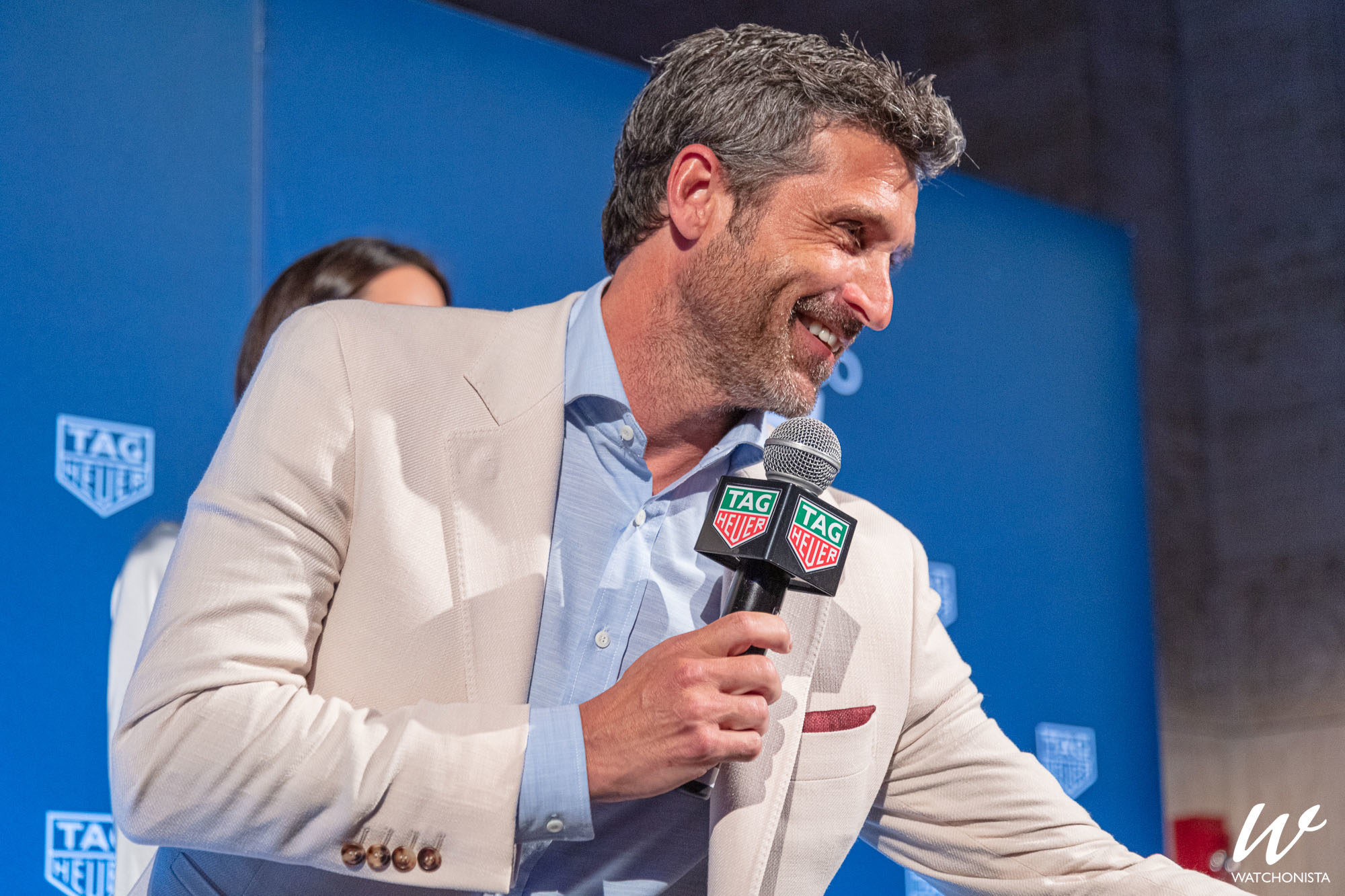 Oh Snap Tag Heuer And Patrick Dempsey Unveil A New 90s Inspired