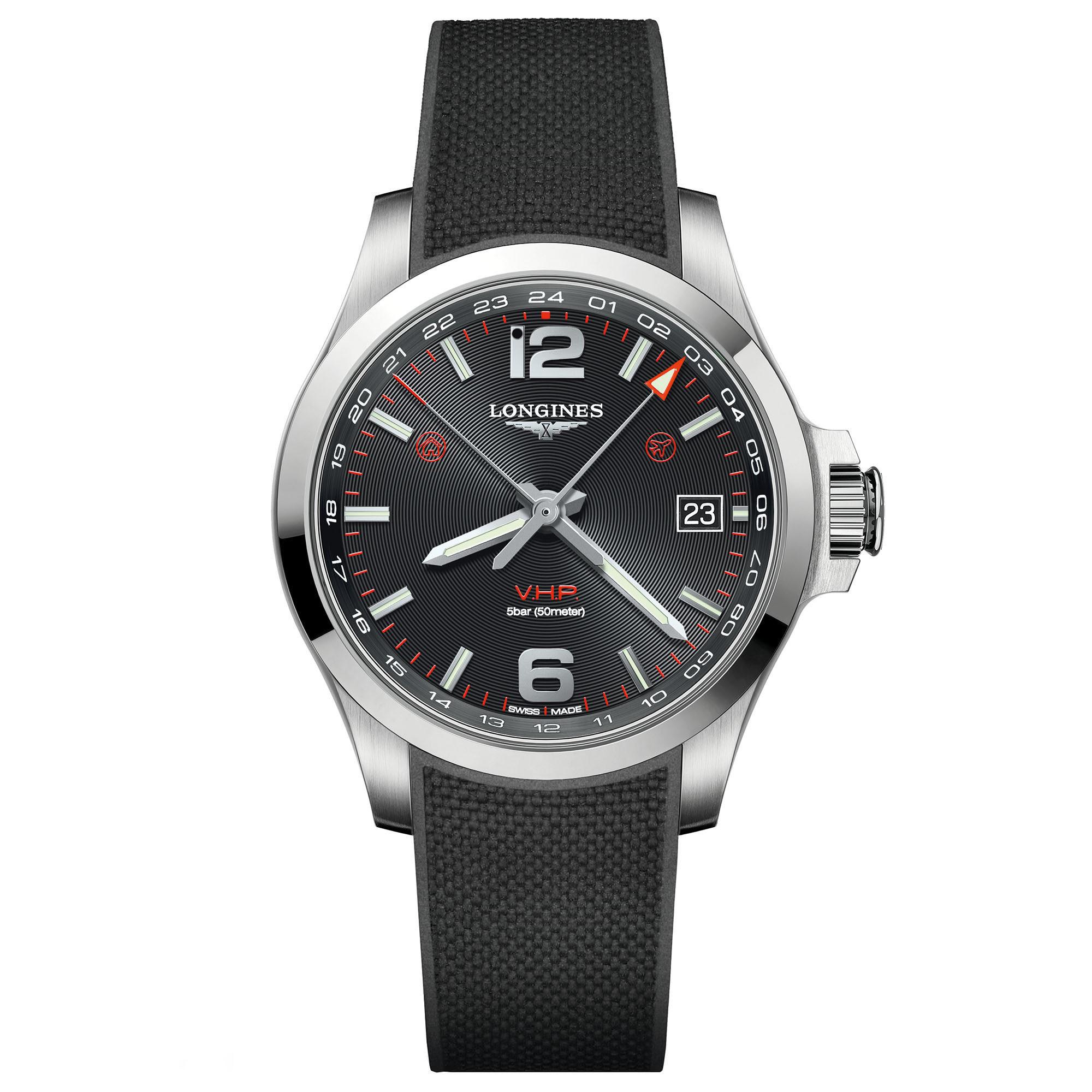 9ab0b55c92c Conquest V.H.P. GMT Flash Setting. L3.718.4.56.9. Find an official retailer  · l3.718.4.56.9 face