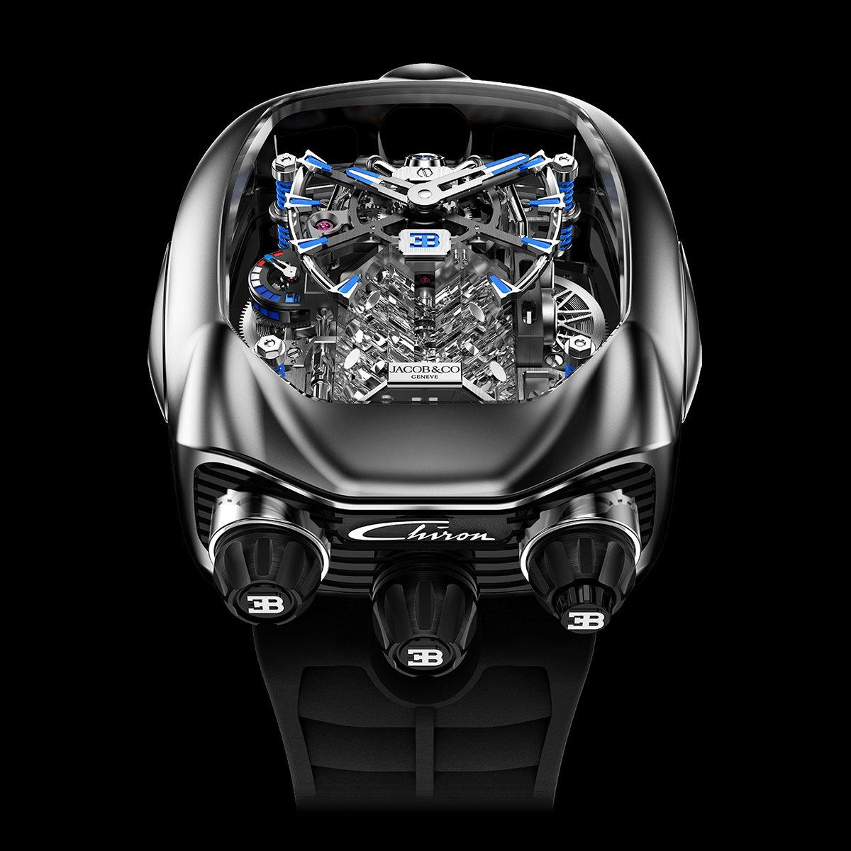 Jacob & Co. Bugatti Chiron Tourbillon Titanium | Jacob & Co.
