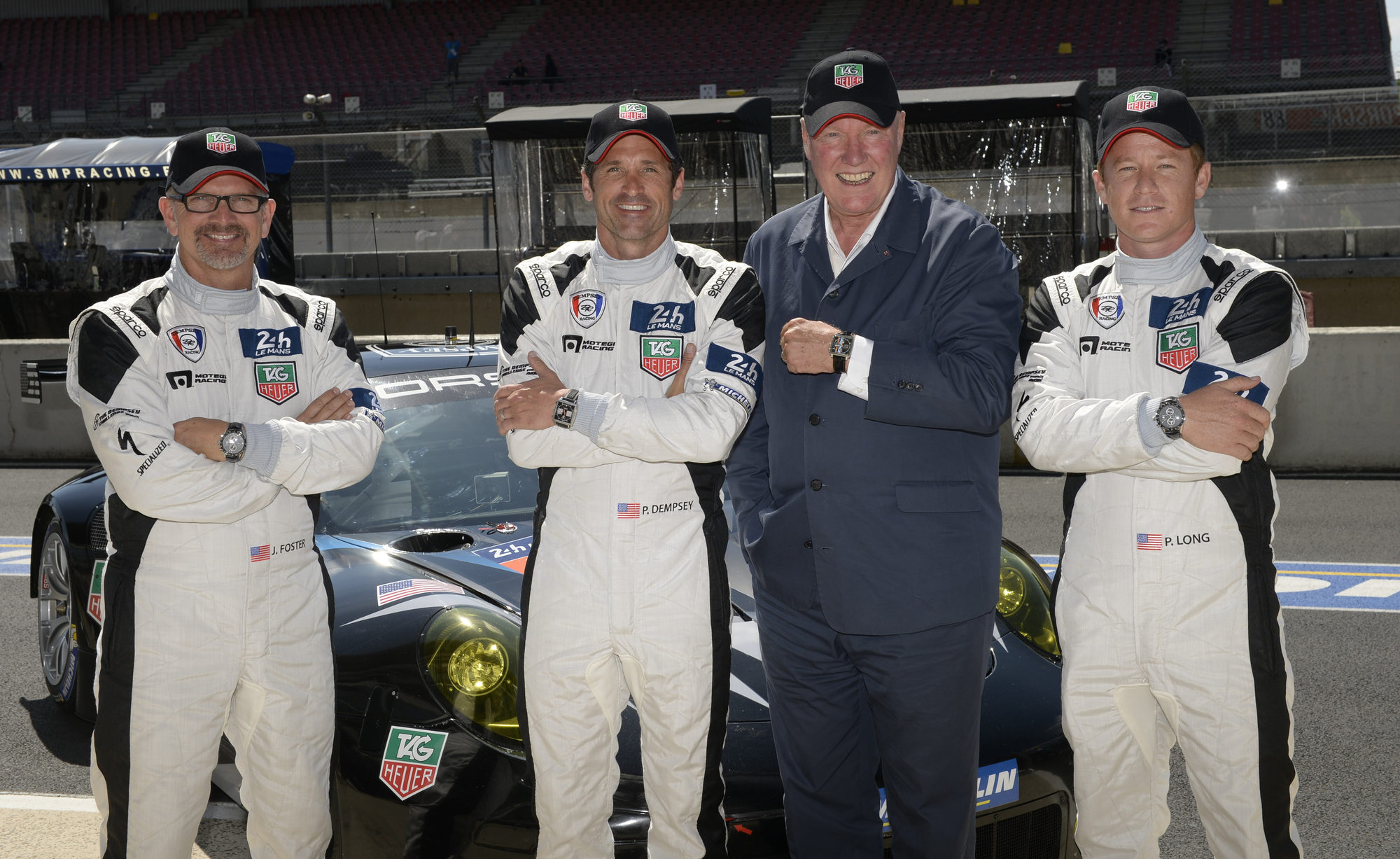 Tag Heuer Once Again Makes History At Le Mans With Patrick Dempsey