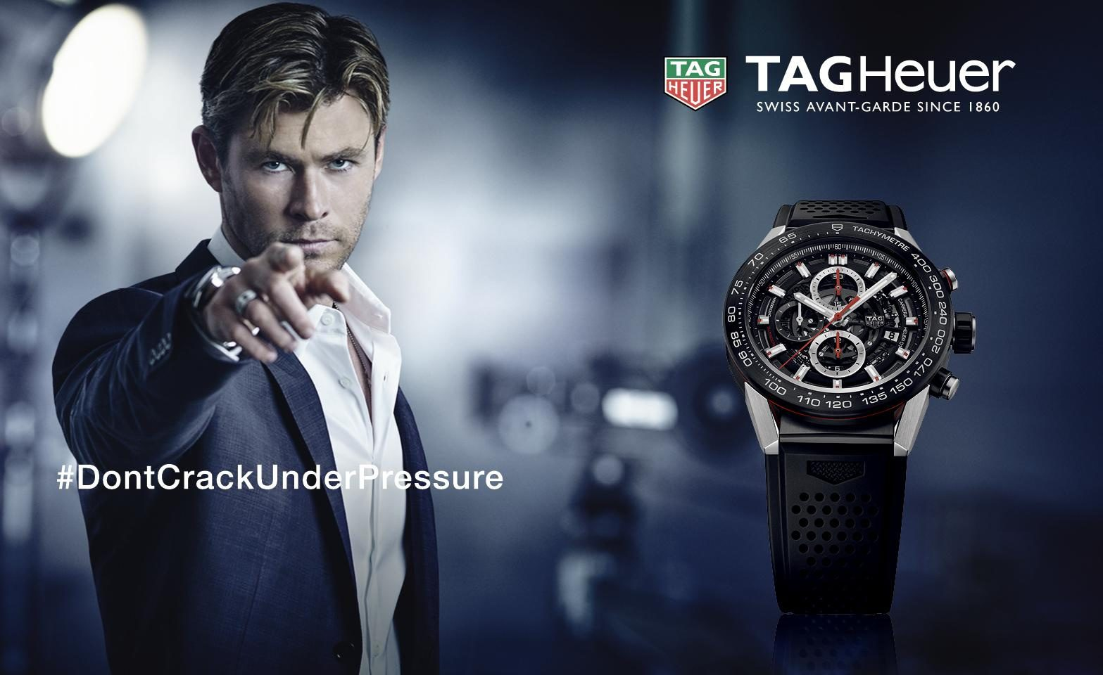 「tag heuer don't crack under pressure」の画像検索結果