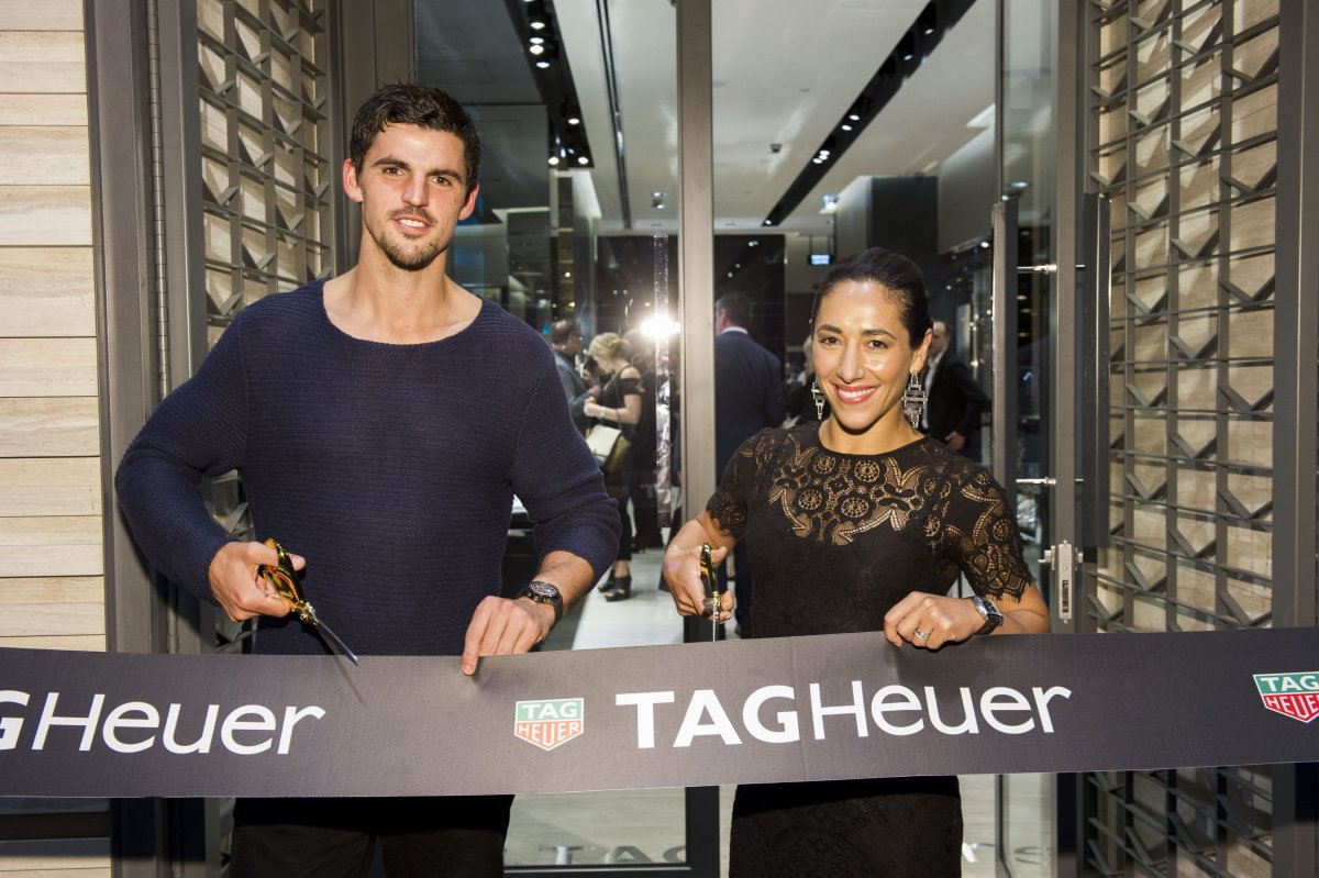 Melbourne Tag Heuer Opens New Flagship Store At St Collins Lane