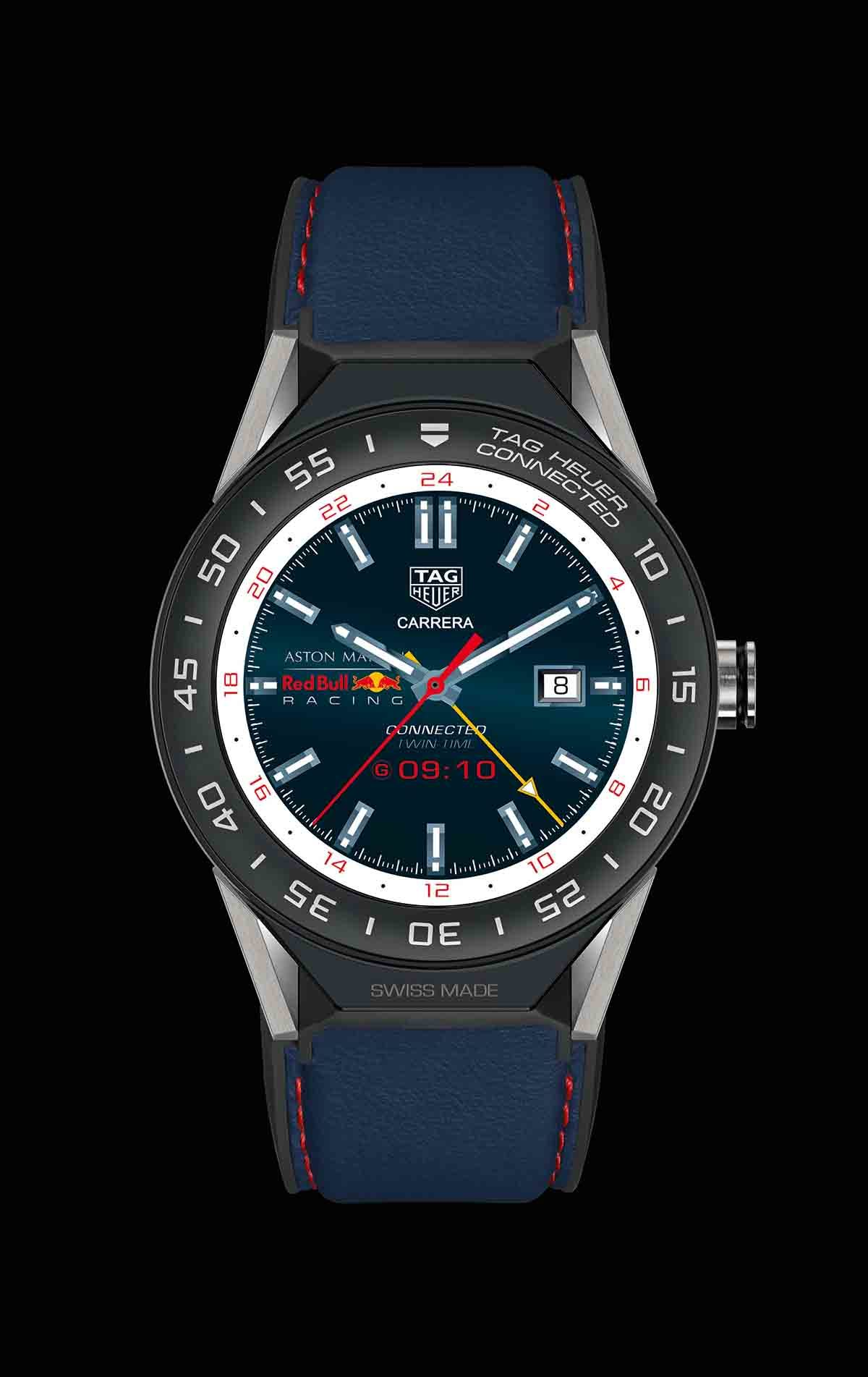 neue uhr tag heuer aston martin red bull racing formula. Black Bedroom Furniture Sets. Home Design Ideas