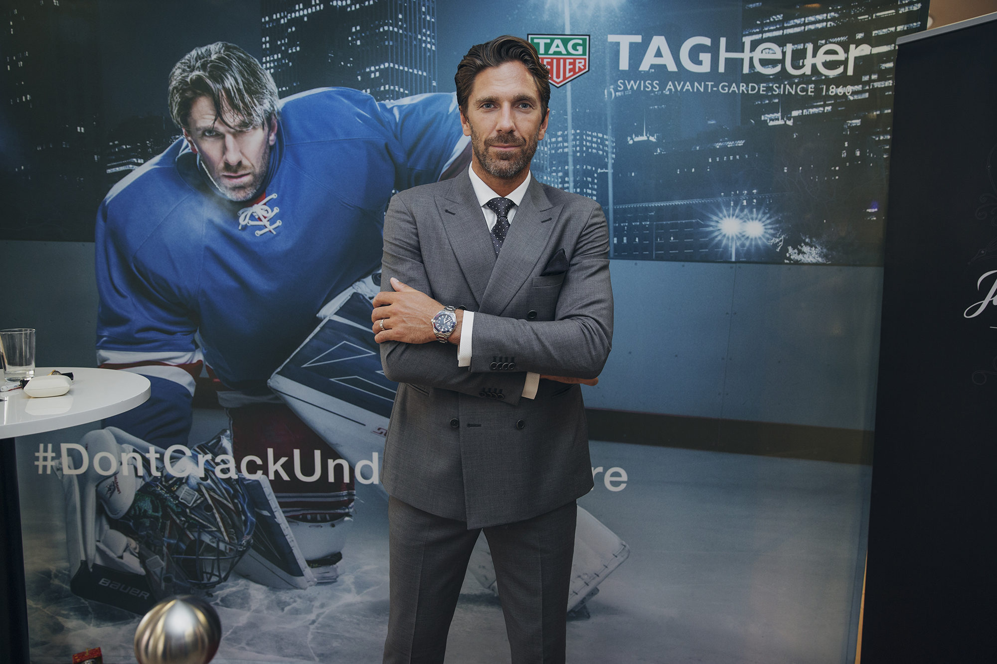 Tag Heuer Is Proud To Present The Aquaracer Henrik Lundqvist Special