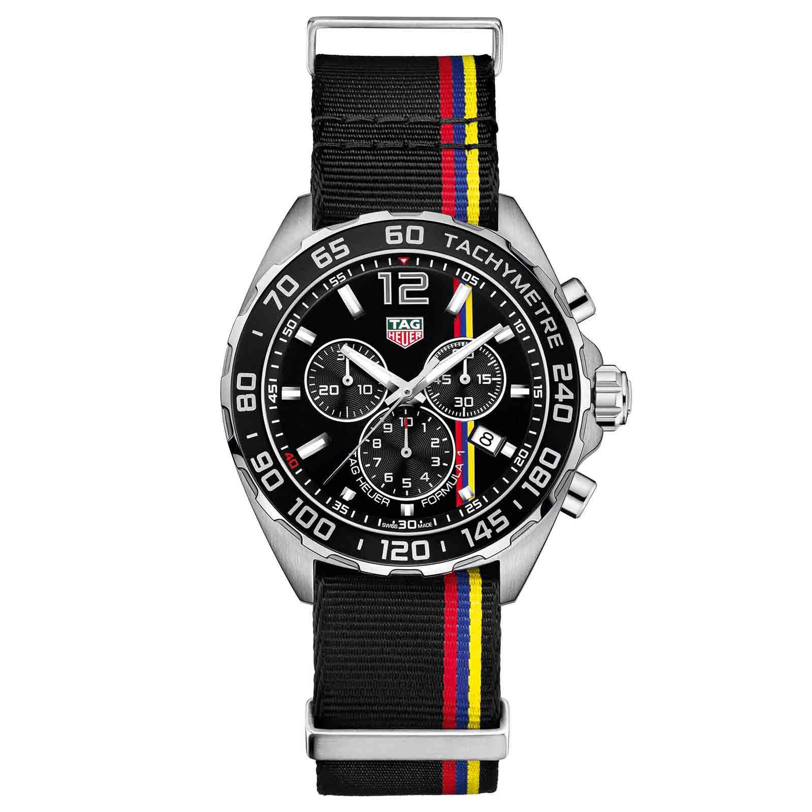 TAG Heuer Formula 1 Chronograph James Hunt Limited Edition ...