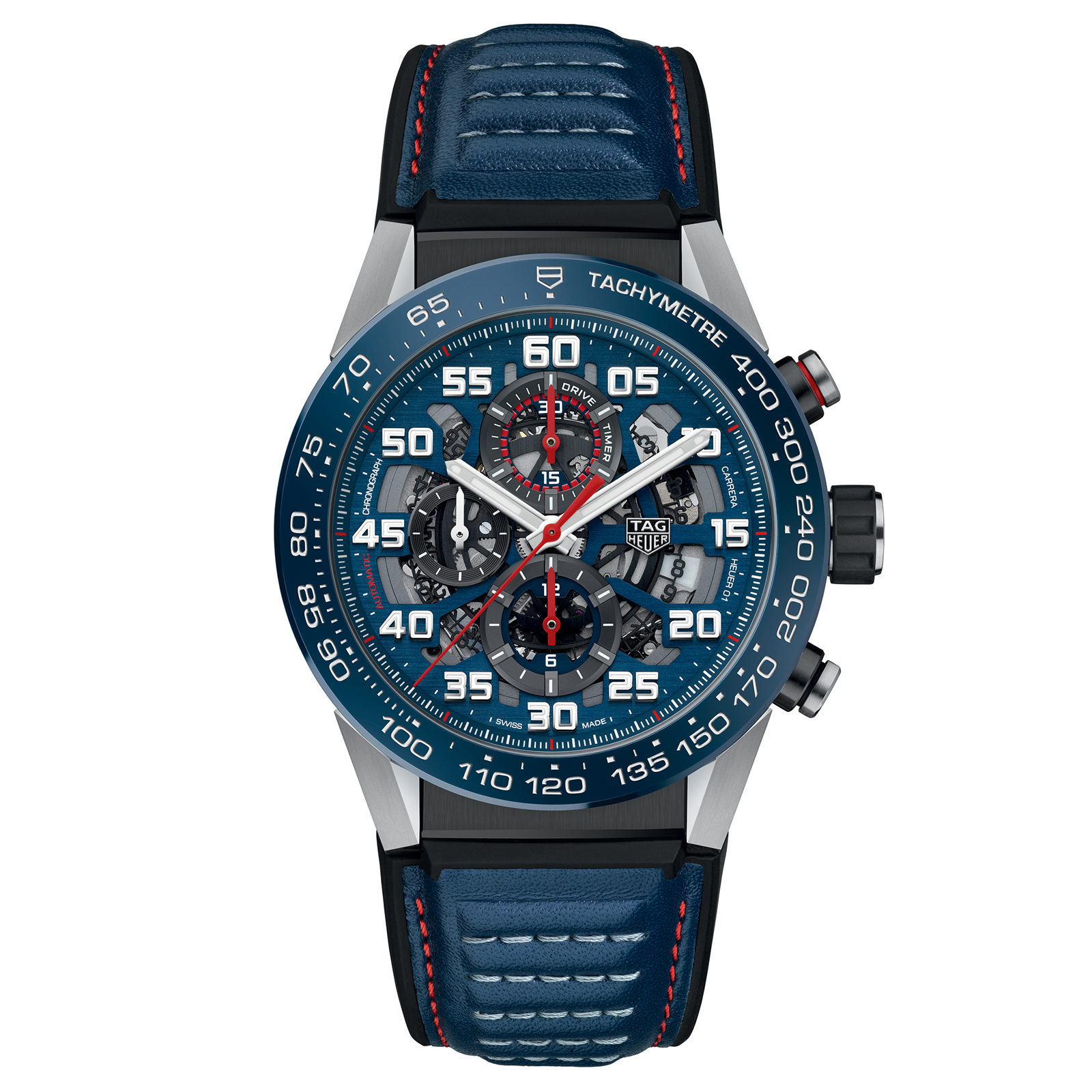 Tag Heuer Carrera Calibre Heuer 01 Automatic Chronograph Red Bull Racing Special Edition Tag Heuer