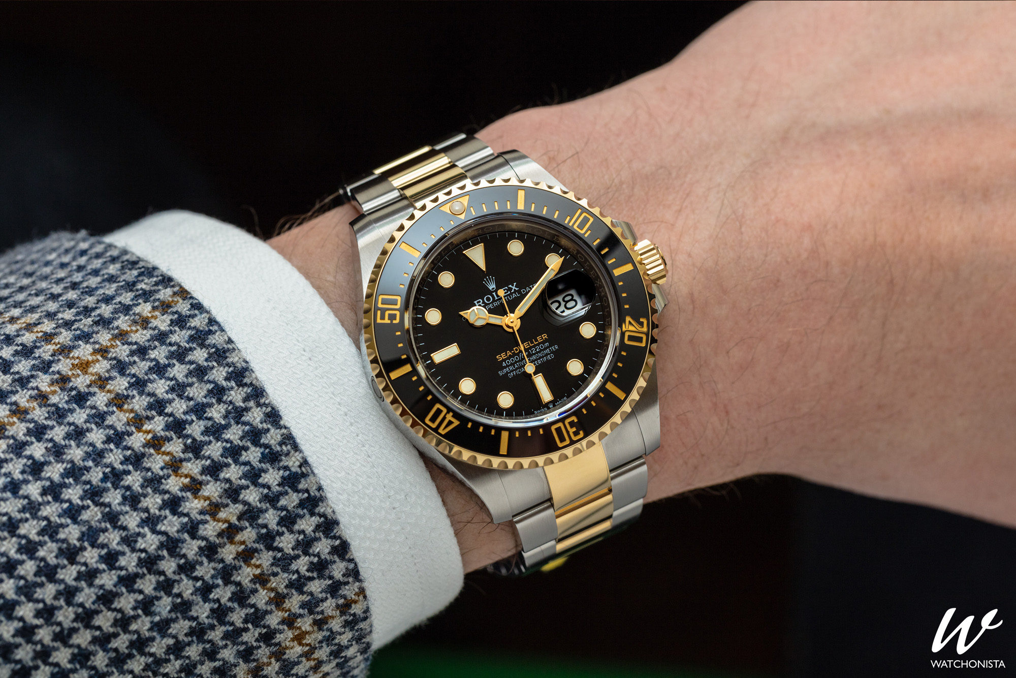 46f668096d9 How Can You Improve Perfection? You Can, If You're Rolex | Watchonista