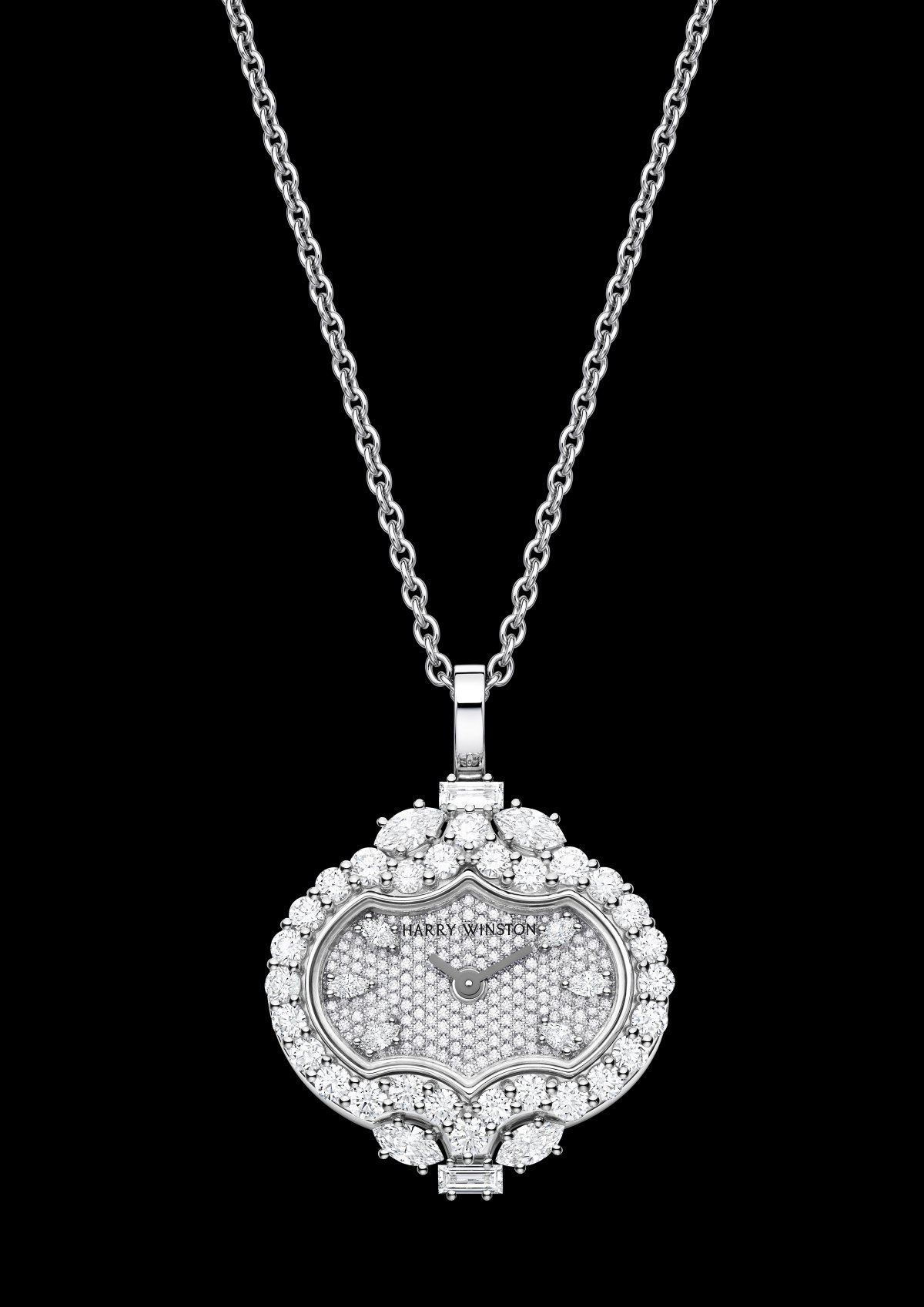 High Jewelry Timepieces Divine Time By Harry Winston