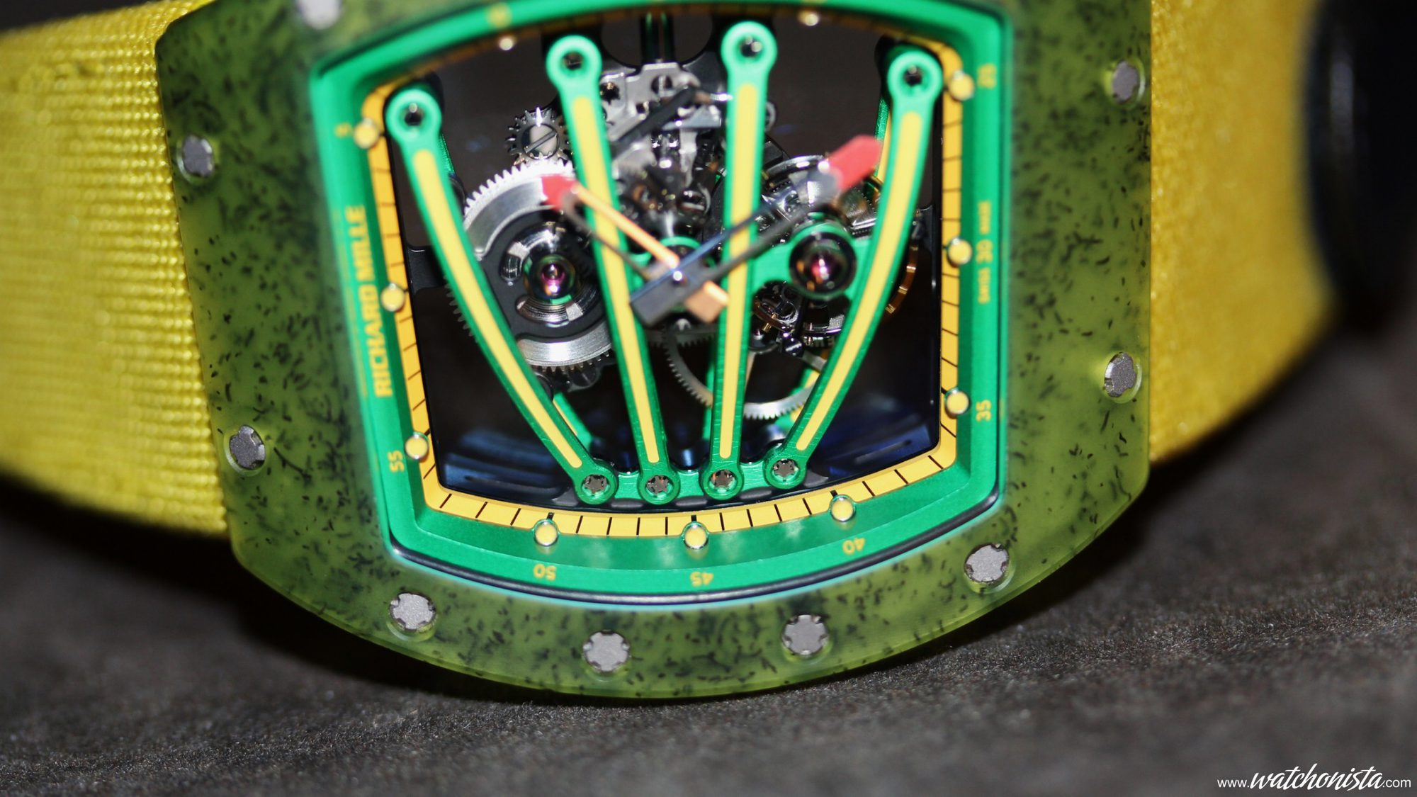 Richard Mille RM 056 - The quest for the all-sapphire