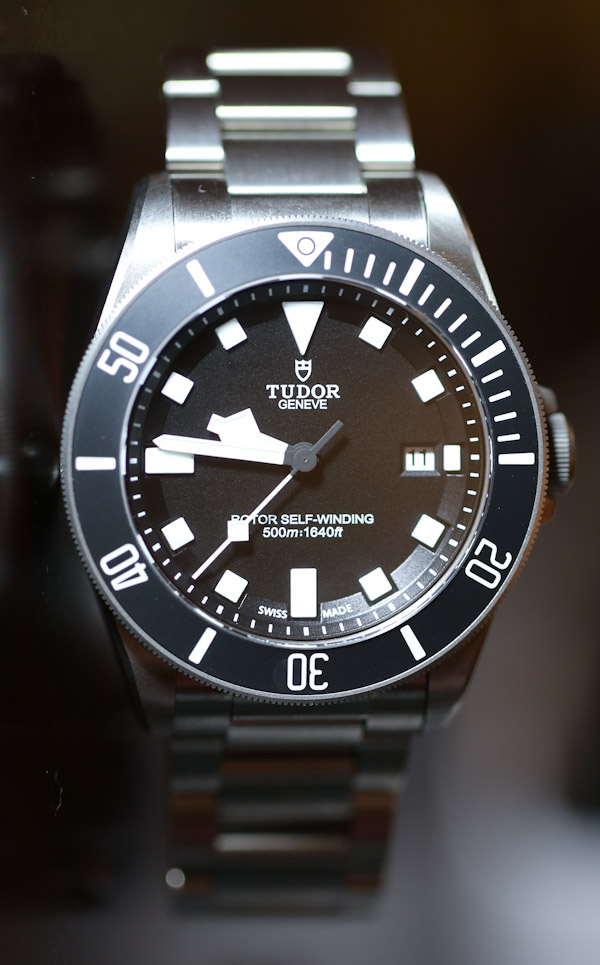 Special review of the tudor pelagos with watchonista - Tudor dive watch price ...