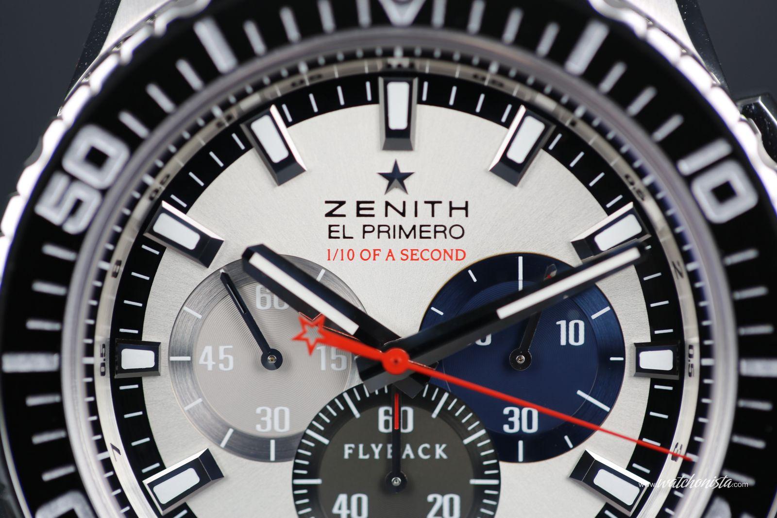73e1b54810d The Zenith El Primero Stratos Flyback Striking 10TH Tribute to Felix  Baumgartner unique prototype
