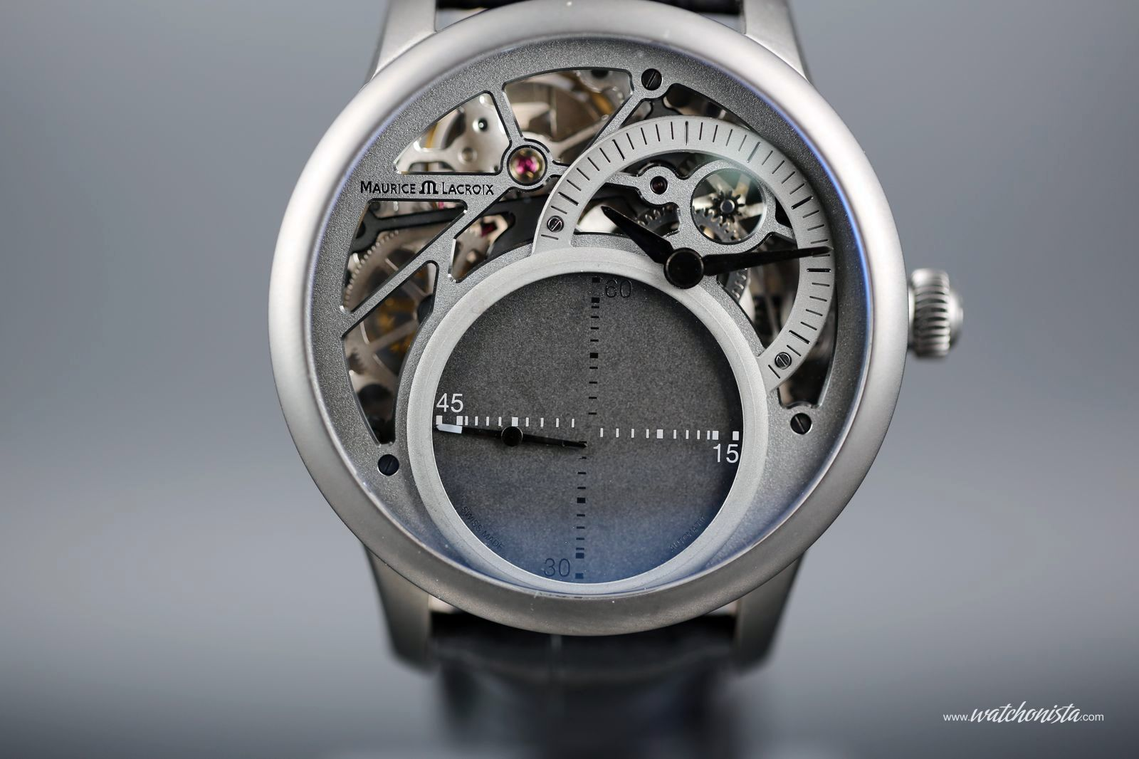 Maurice Lacroix reinvents the mysterious second for Only Watch 2013 ... 2be0d90596