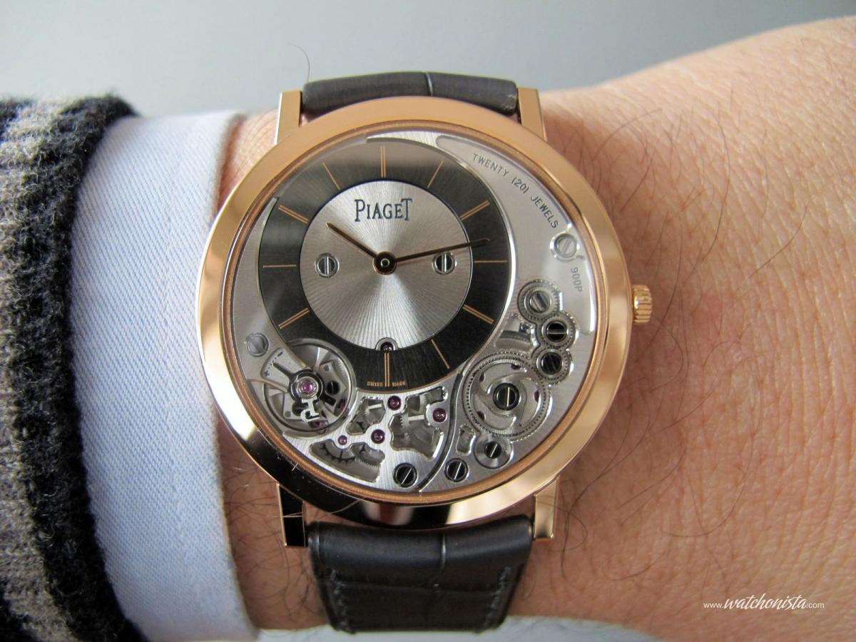 Piaget Altiplano 900P: the thinnest mechanical watch in ...