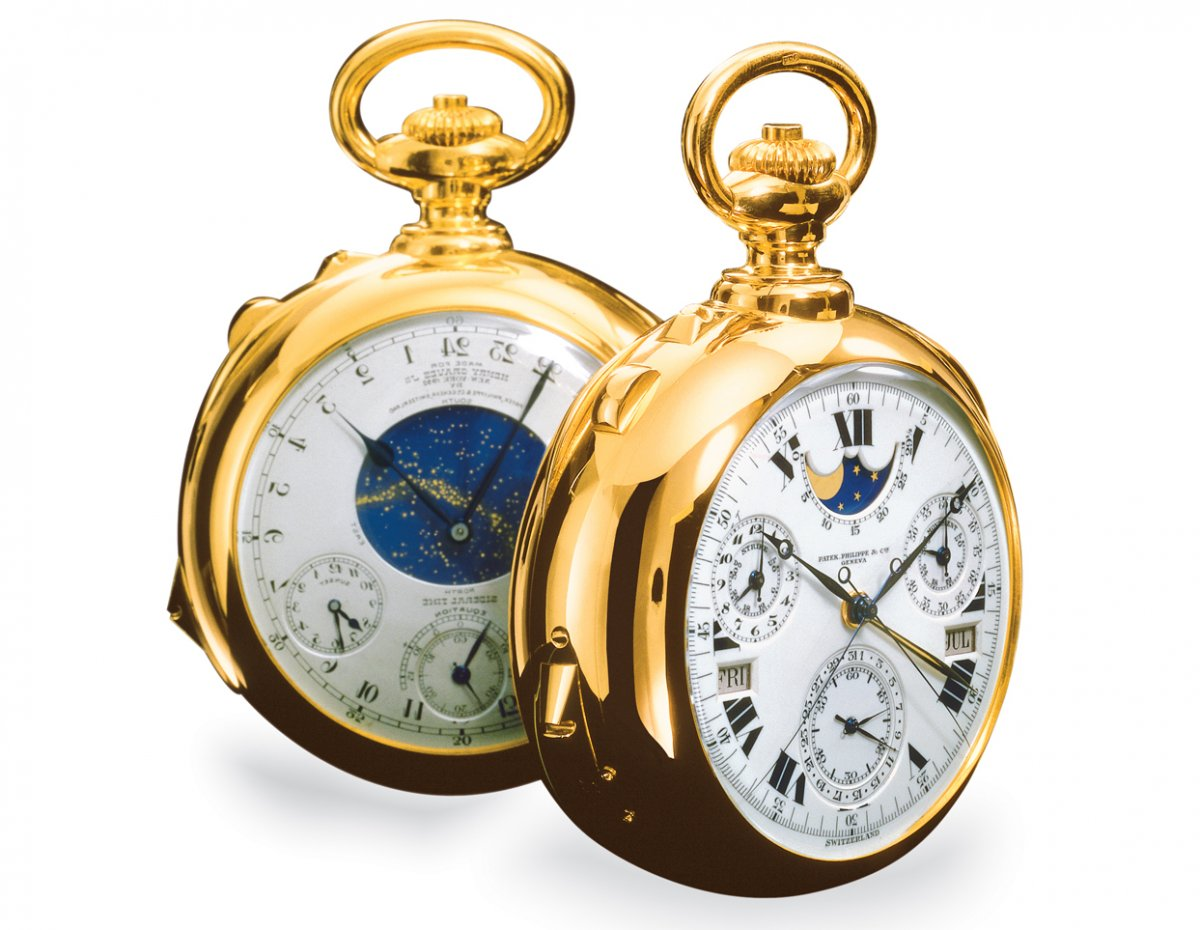 Patek philippe most complicated pocket watch