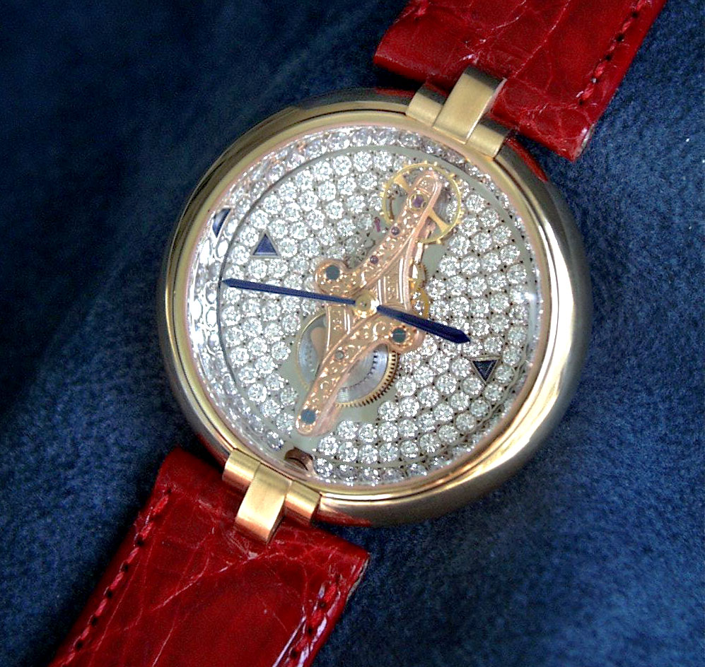 Часы винсент калабрес