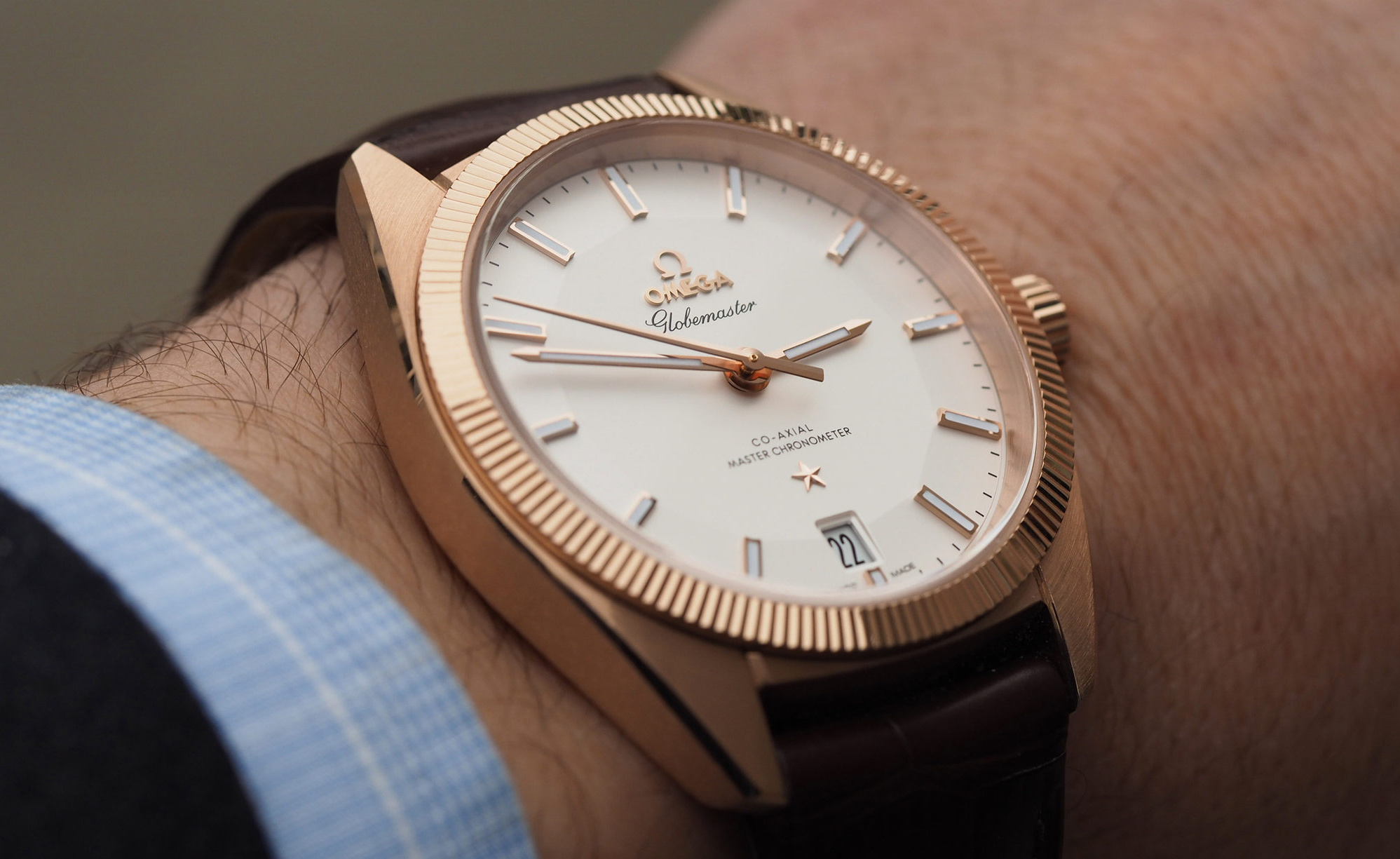 """Concours D Elegance >> Omega Globemaster: the return of the """"Ora Exacta"""" to your ..."""