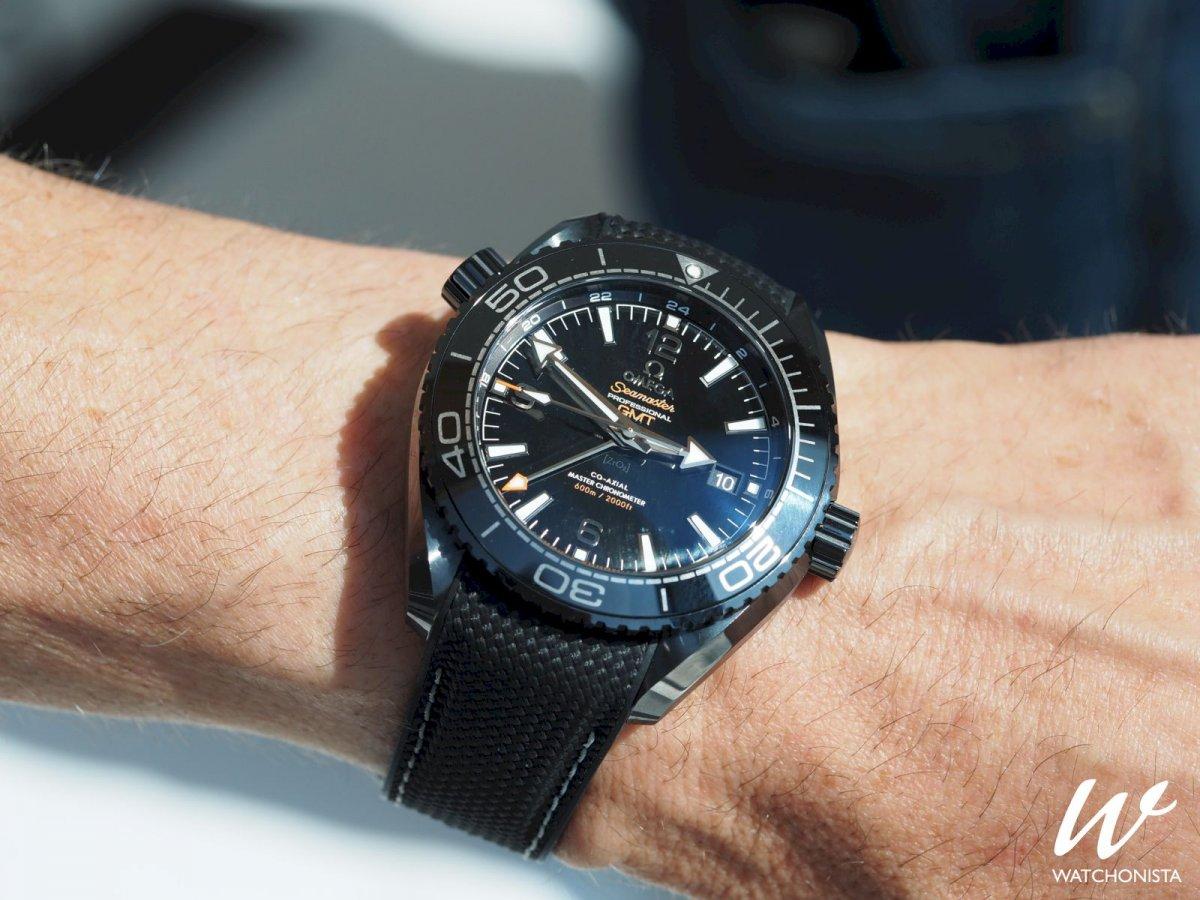 Omega Seamaster Planet Ocean Deep Black Photos Exclusives