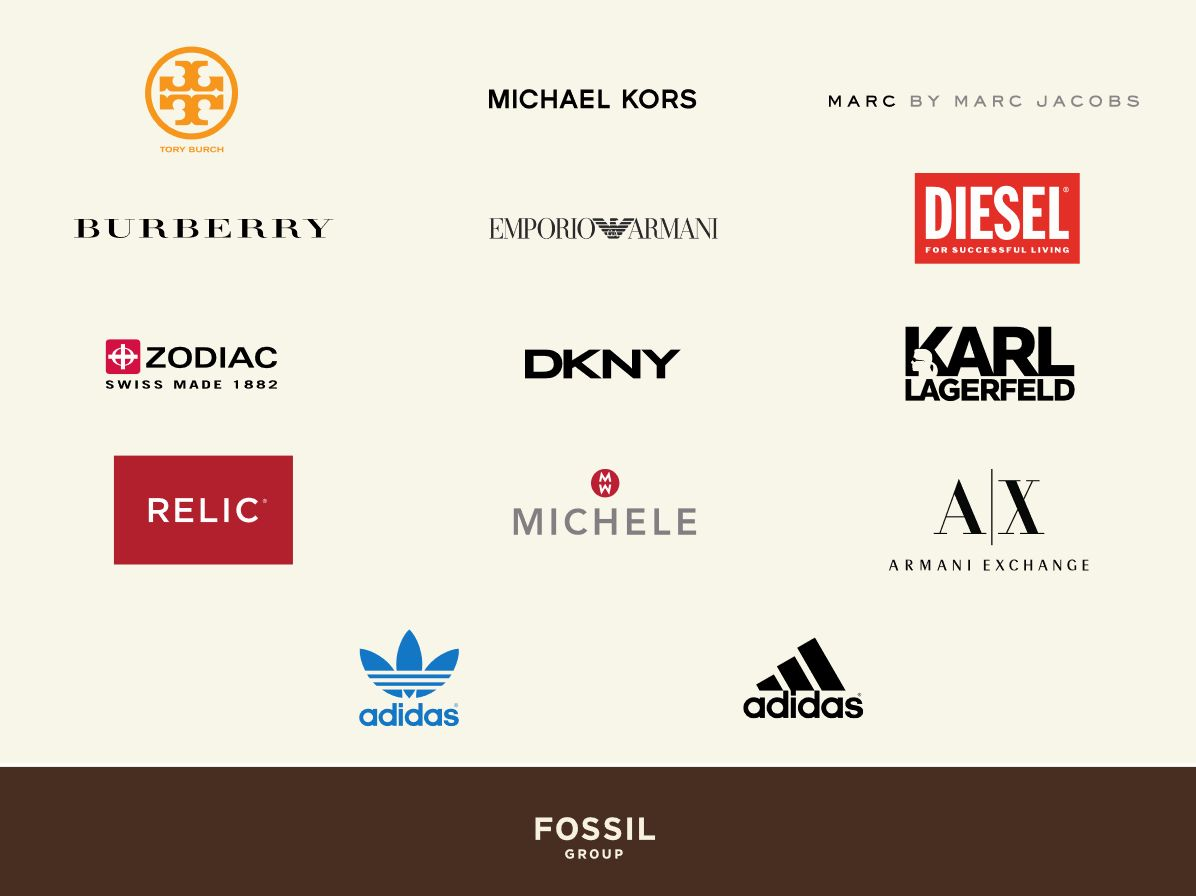 Fossil brands