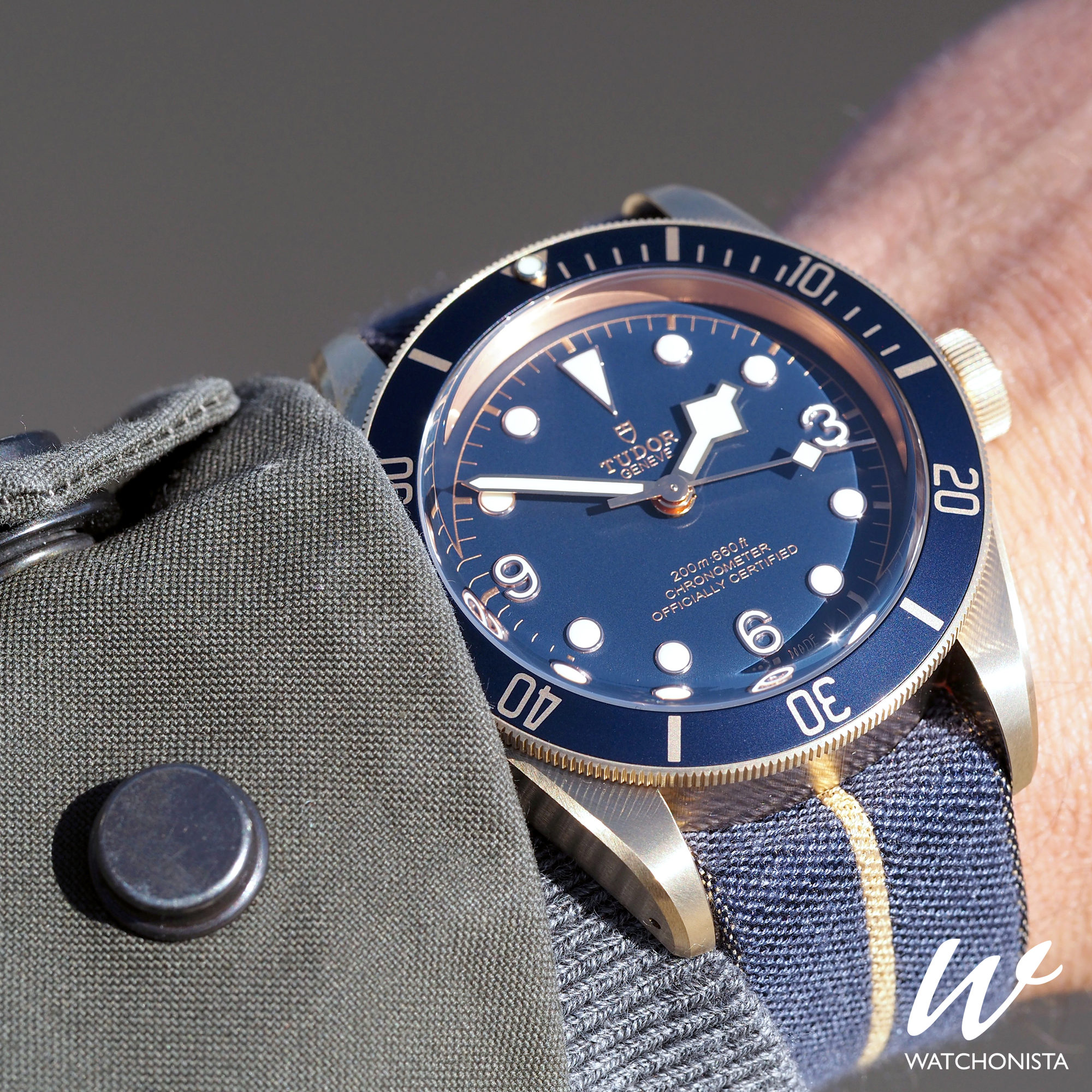 Note to collectors The blue TUDOR settles in at Bucherer