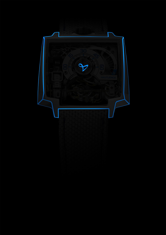 e901ad74a7 HAUTLENCE dévoile la VORTEX Gamma Tron | Watchonista
