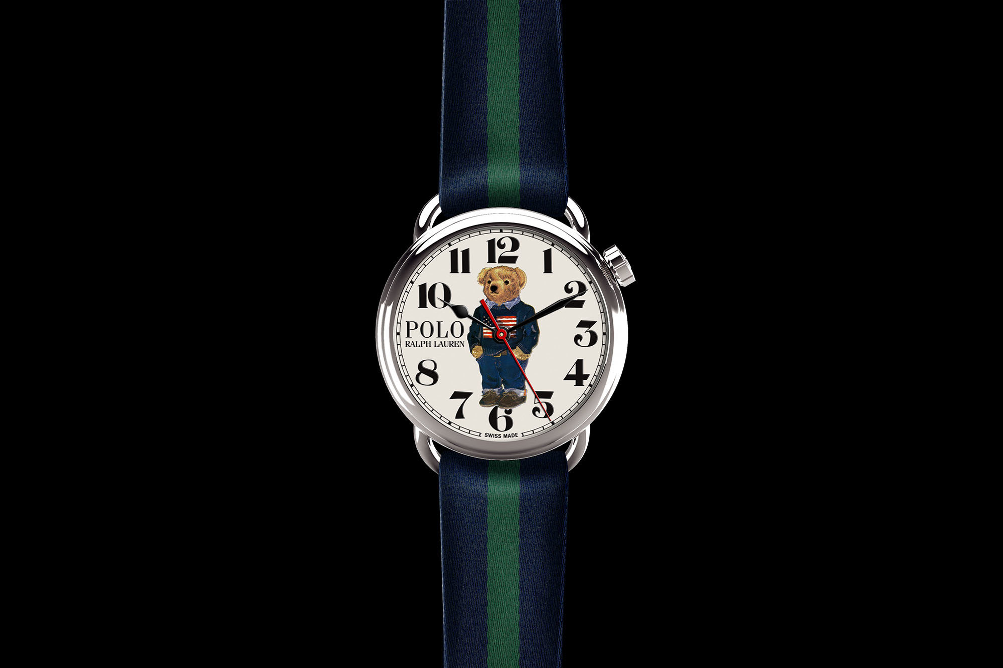 191f45eb5e5a Nouvelle collection de montres Ralph Lauren Polo Bear   Ralph Lauren