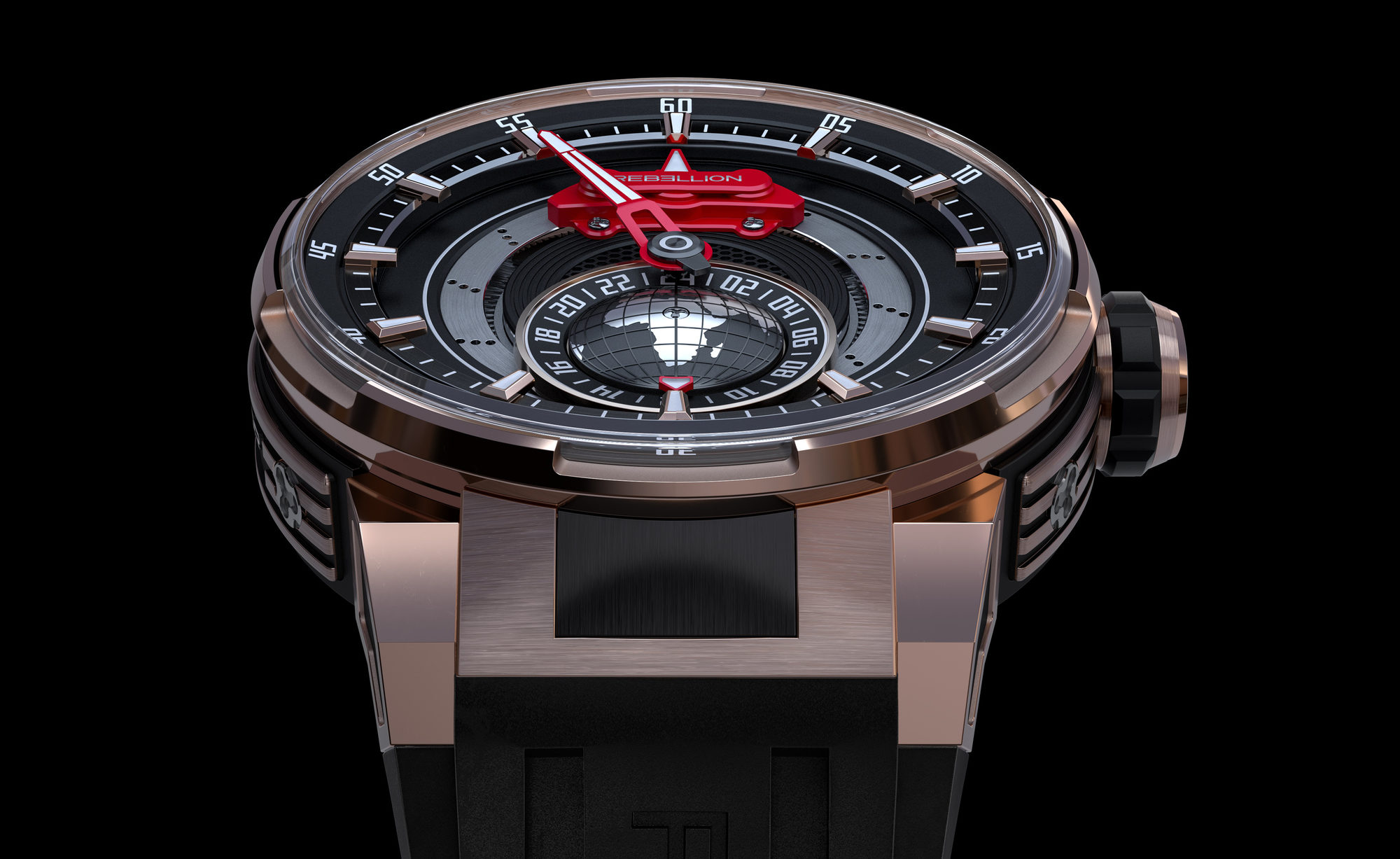 rebellion timepieces hands plate watches side perspective collection swiss predator collections en