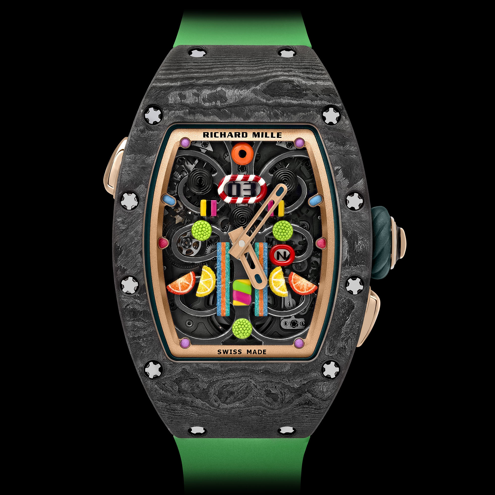 Richard Mille Rm 37 01 Automatic Kiwi Richard Mille