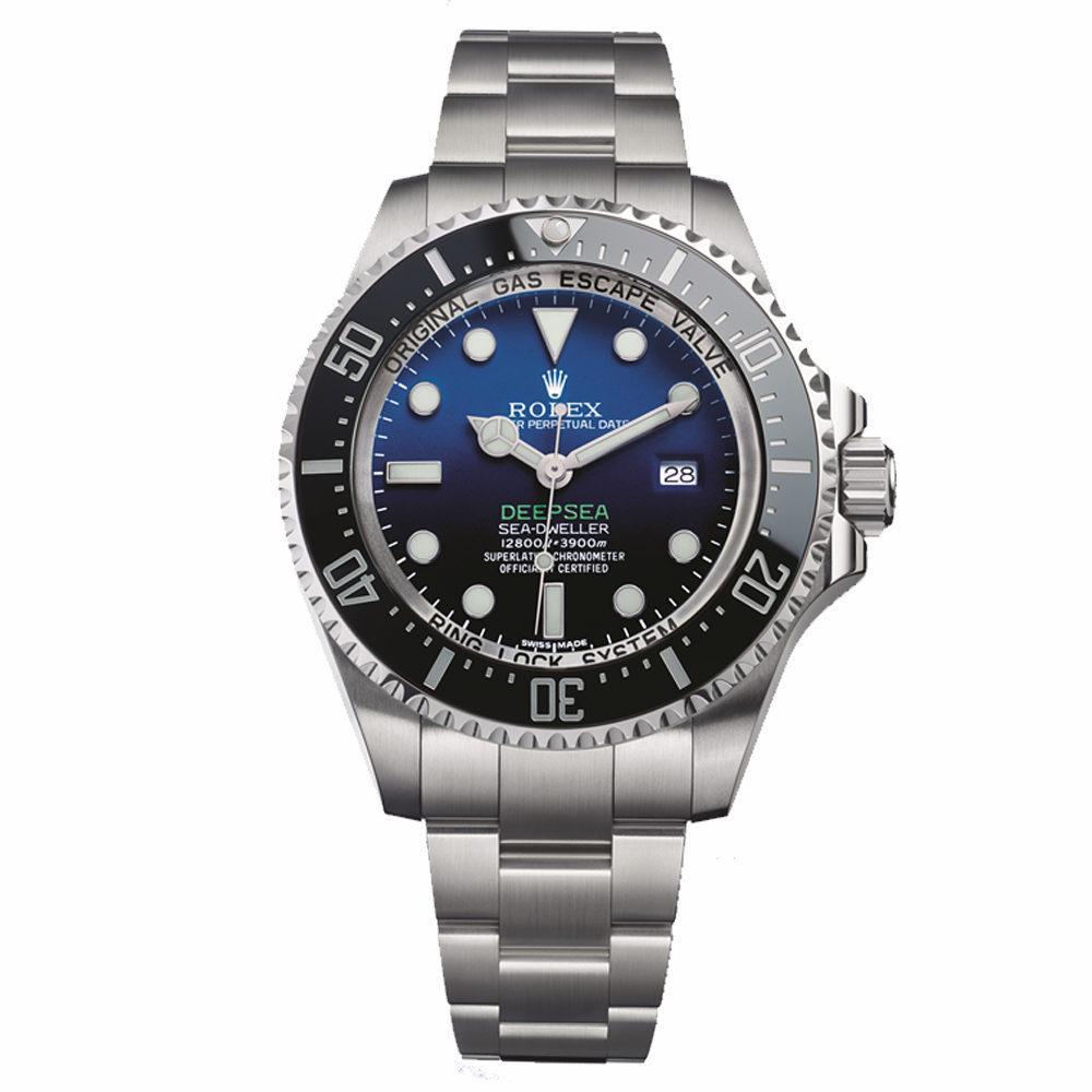 Oyter Perpetual Deepsea Sea-Dweller D-Blue 44 Mm